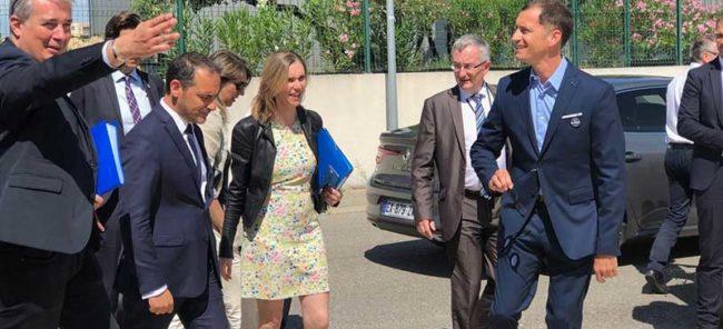 Visite de Madame la Ministre Agnès Pannier-Runacher