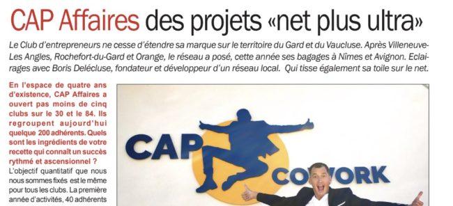 Vaucluse hebdo : CAP Affaires, des projets «net plus ultra»