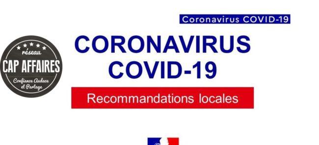 Infos importantes entreprises – Coronavirus – Covid 19