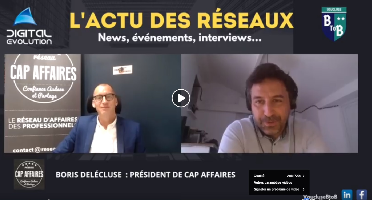 Interview de Boris Delécluse par Vaucluse B to B
